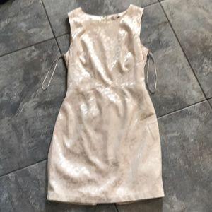 Ivory satin still love 21 formal dress